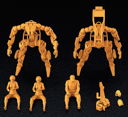 MODEROID31: MODEROID 1/35 Multi-Purpose EXOFRAME (Yellow)