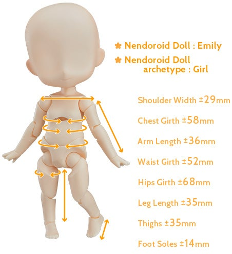 Nendoroid Doll: Emily Nendoroid Doll archetype:Girl