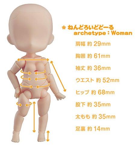 ねんどろいどどーる archetype:woman